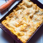 Lasagnes aux carottes et au pesto