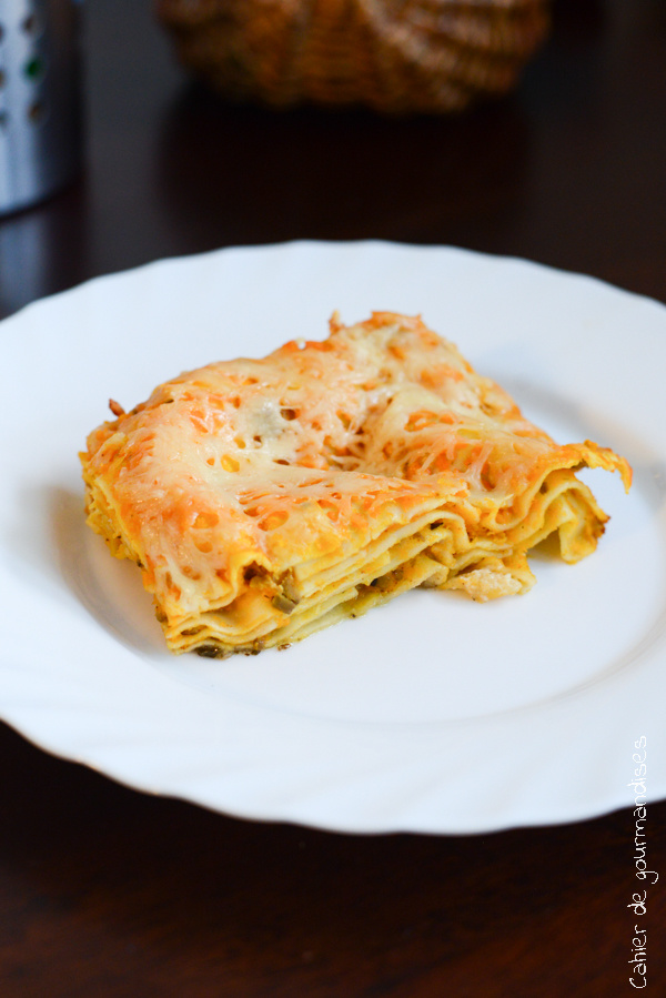 Lasagnes aux carottes | Cahier de gourmandises