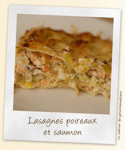 Lasagnes poireaux & saumon