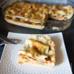Lasagnes aux blettes et sauce tomate