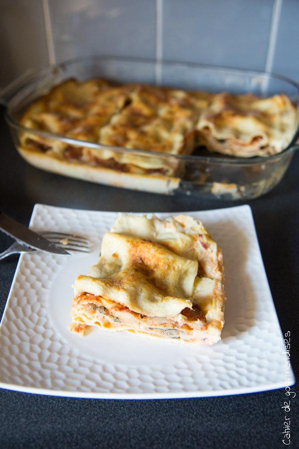 Lasagnes aux blettes | Cahier de gourmandises