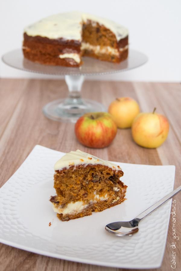 Carrot Cake | Cahier de gourmandises