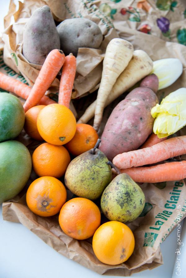 Legumes BIO | Cahier de gourmandises