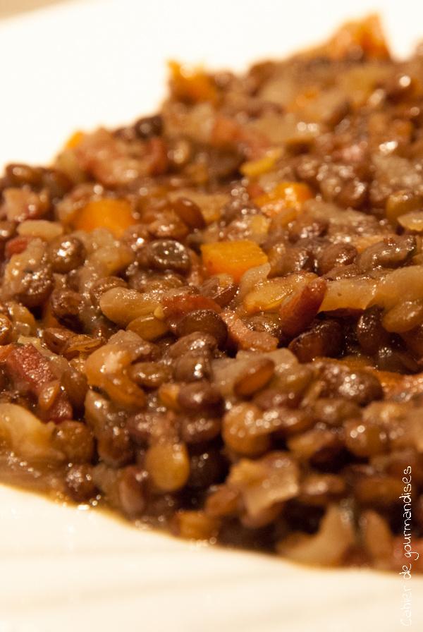 Lentilles Carottes | Cahier de gourmandises