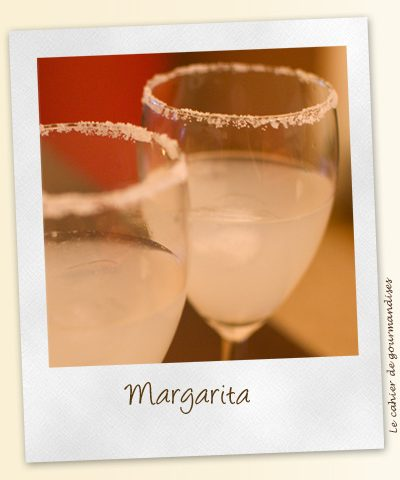 Le cocktail Margarita