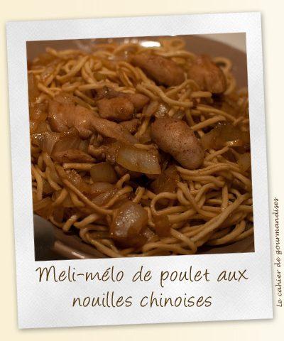 Meli-Melo de poulet aux nouilles