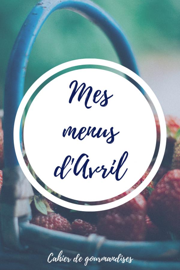 Menus_Avril