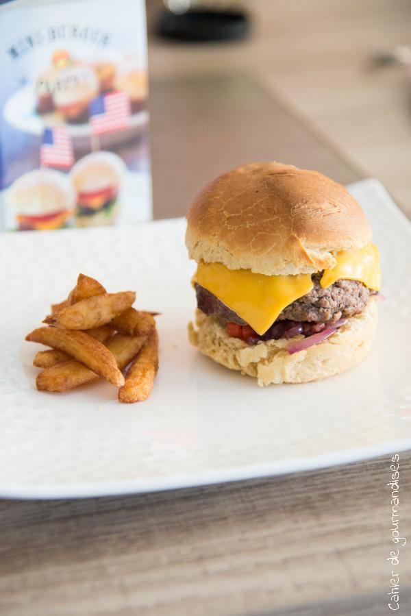 Mini burgers| Cahier de gourmandises