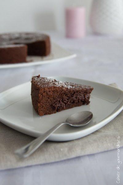 Moelleux chocolat Chioca | Cahier de gourmandises