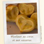 Moelleux au citron et noisettes