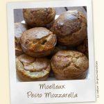 Moelleux pesto et mozzarella