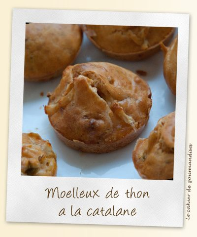 Moelleux de thon à la catalane