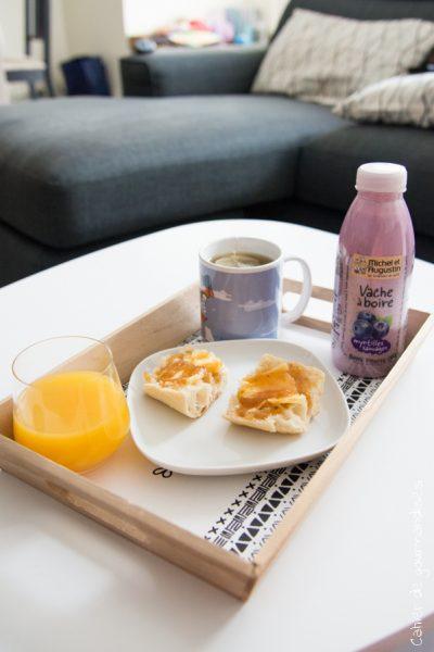 Un petit-déjeuner complet pour bien démarrer la journée