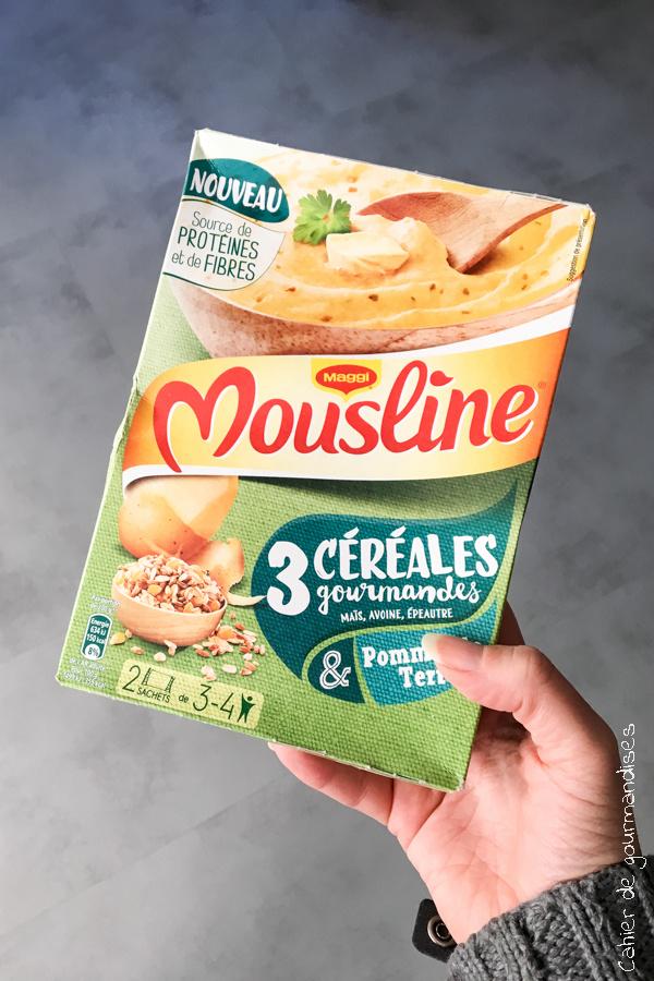Puree Mousline 3 céréales | Cahier de gourmandises