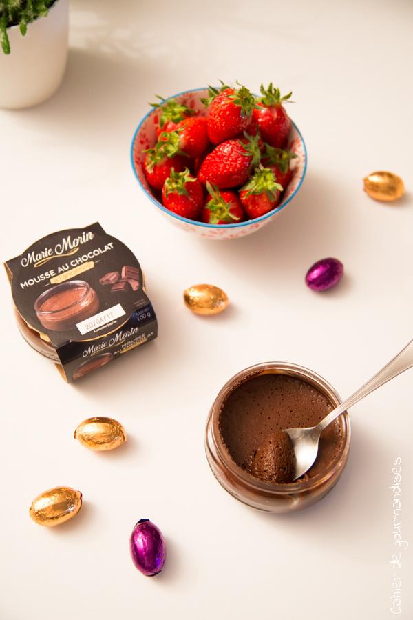 Mousse au chocolat Marie Morin | Cahier de gourmandises