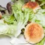 Boules de mozzarella panées