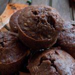 Muffins au chocolat, amandes et courgettes