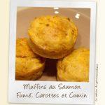 Muffins Briochés au Saumon Fumé, Carottes et Cumin