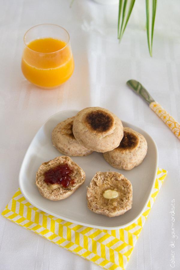 Muffins anglais | Cahier de gourmandises