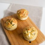 Muffins aux courgettes et au parmesan