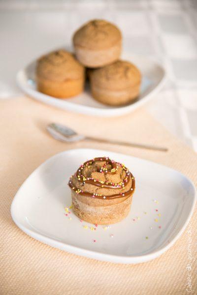 Muffins healthy à la confiture de lait