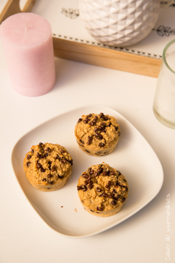 Muffins healthy chocolat | Cahier de gourmandises