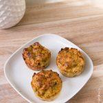 Muffins poireaux | Cahier de gourmandises