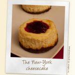 The NY cheesecake