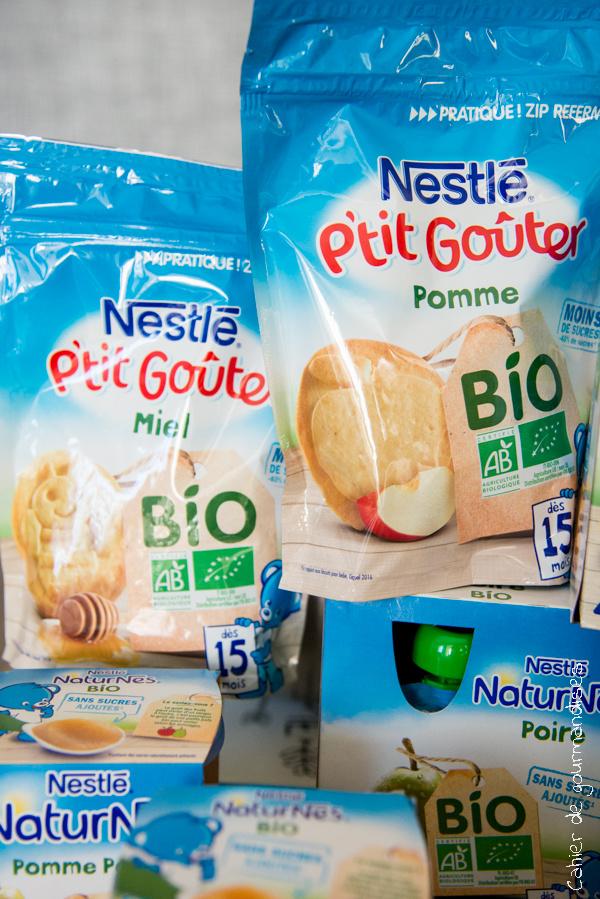 Naturnes Gouter BIO   Cahier de gourmandises