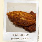 Faux paillassons pommes de terre – carottes