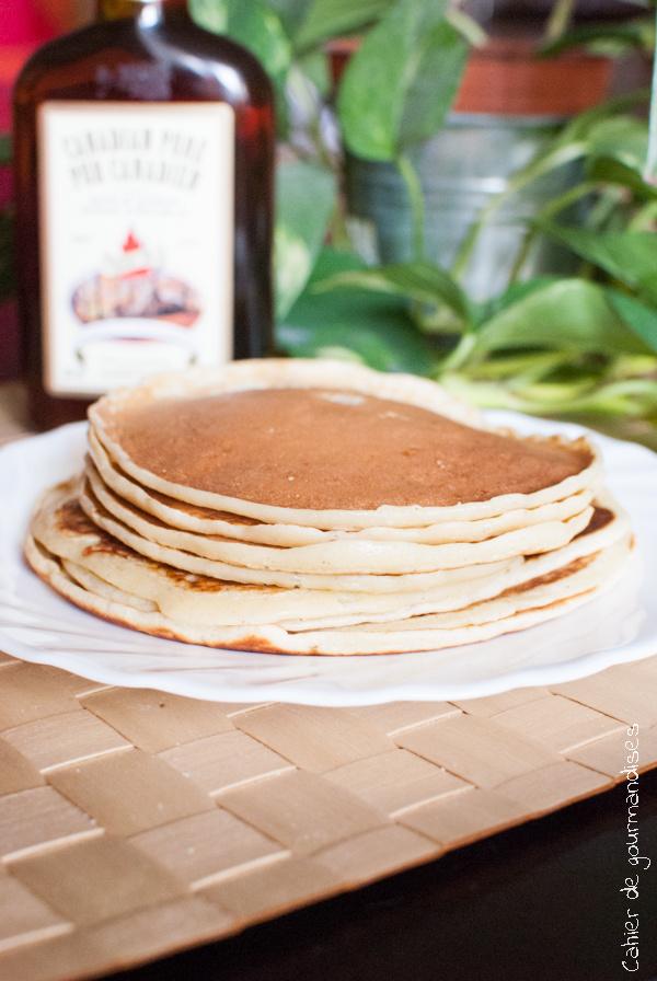 Des pancakes au sirop d'érable !