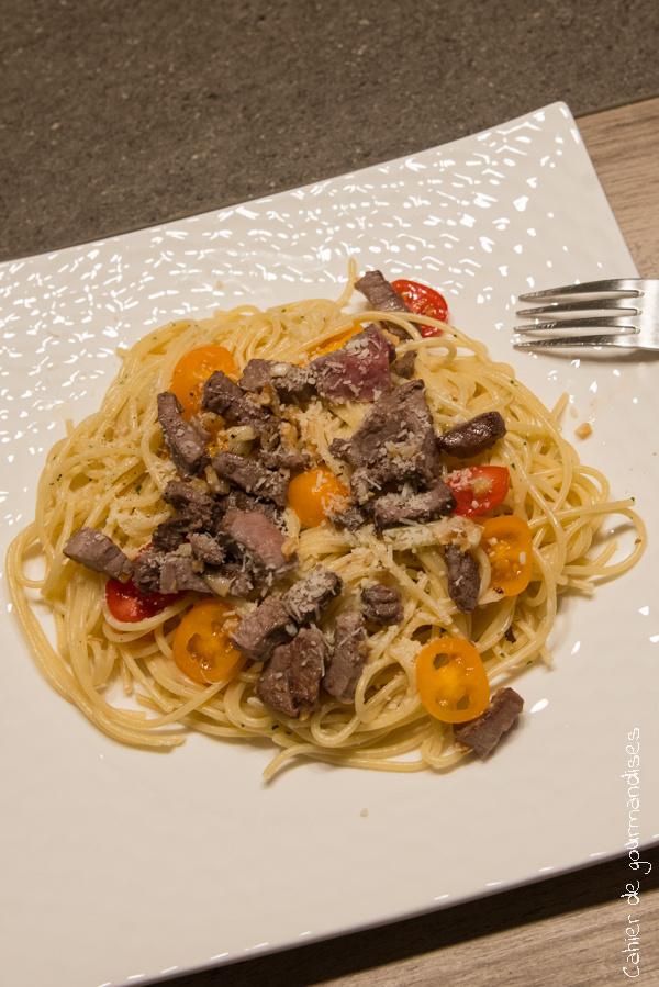 Pates Roti Tomates Cerises | Cahier de gourmandises