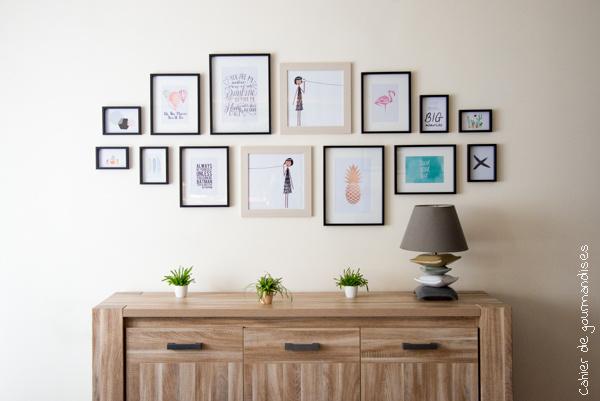 Mon mur d'affiches | Cahier de gourmandises