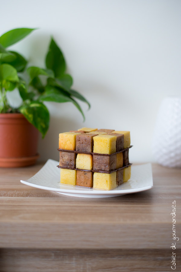 Pixcake rubicube | Cahier de gourmandises