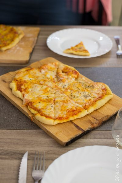 Pizza 3 fromages | Cahier de gourmandises