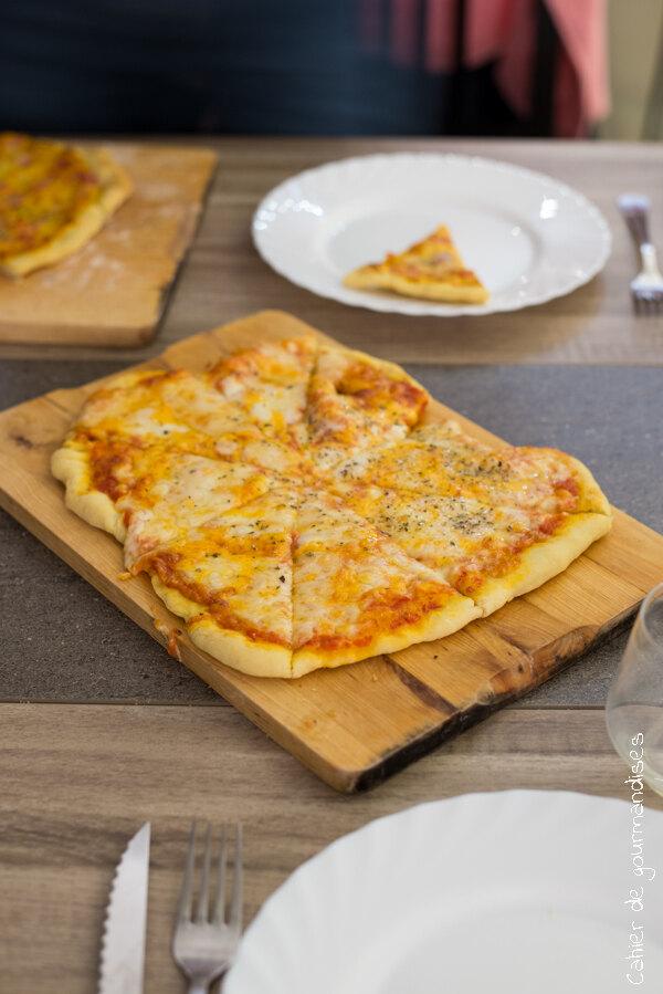 Pizza 3 fromages | Cahier de gourmandises
