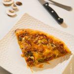 Pizza champignons chorizo Double Cheese | Cahier de gourmandises