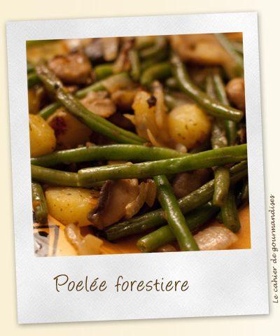 Poelée forestière