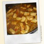 Poulet au curry et au mascarpone