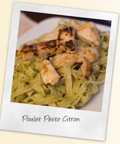 Poulet Pesto Citron