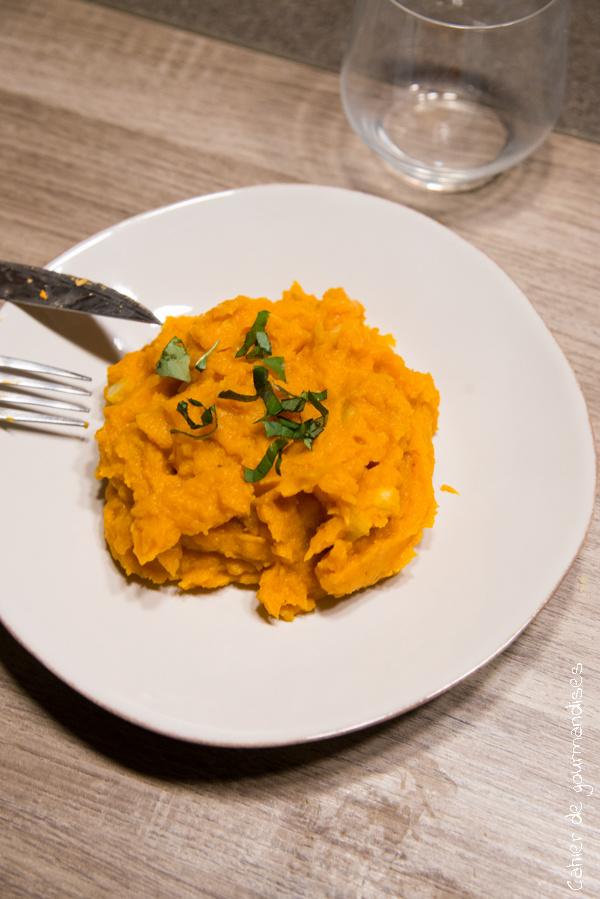 Purée patates douce et carottes | Cahier de gourmandises