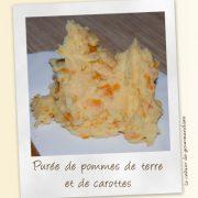 Puree Pommes Carottes