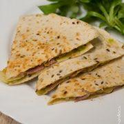 Quessadillas guacamole cheddar lard   Cahier de gourmandises