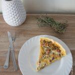 Quiche Aubergine Lardons | Cahier de gourmandises