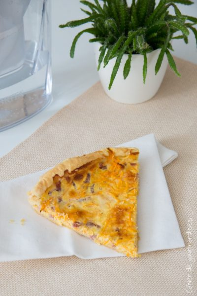 Quiche à la carotte | Cahier de gourmandises
