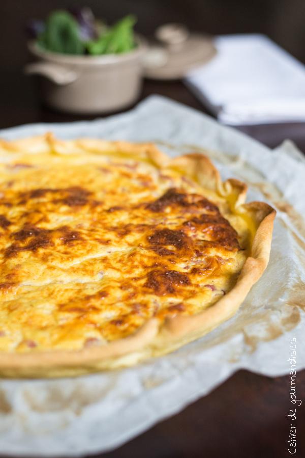 Quiche lorraine | Cahier de gourmandises