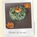 Risotto de la mer aux épinards