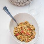 Risotto tomates calamar | Cahier de gourmandises
