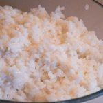 Préparation du riz pour sushi et makis