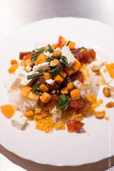 Riz lentilles corail | Cahier de gourmandises